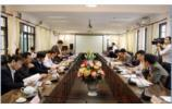 THAI NGUYEN UNIVERSITY'S LEADERS WORK WITH LEADERS OF LAO CAI PROVINCE