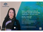 Australian Awards Scholarship announcement - selection round 2020