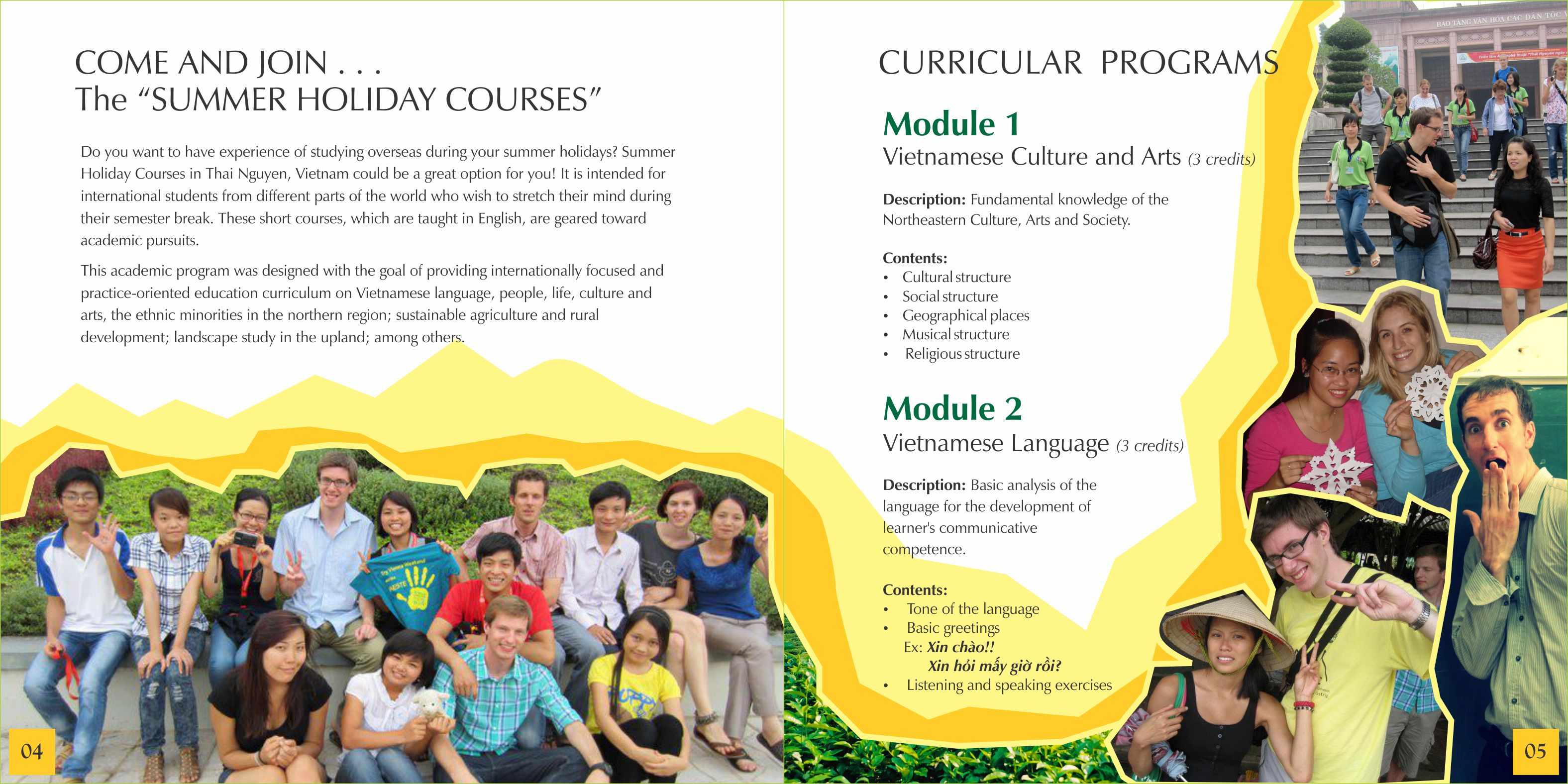 Summer Holiday Courses